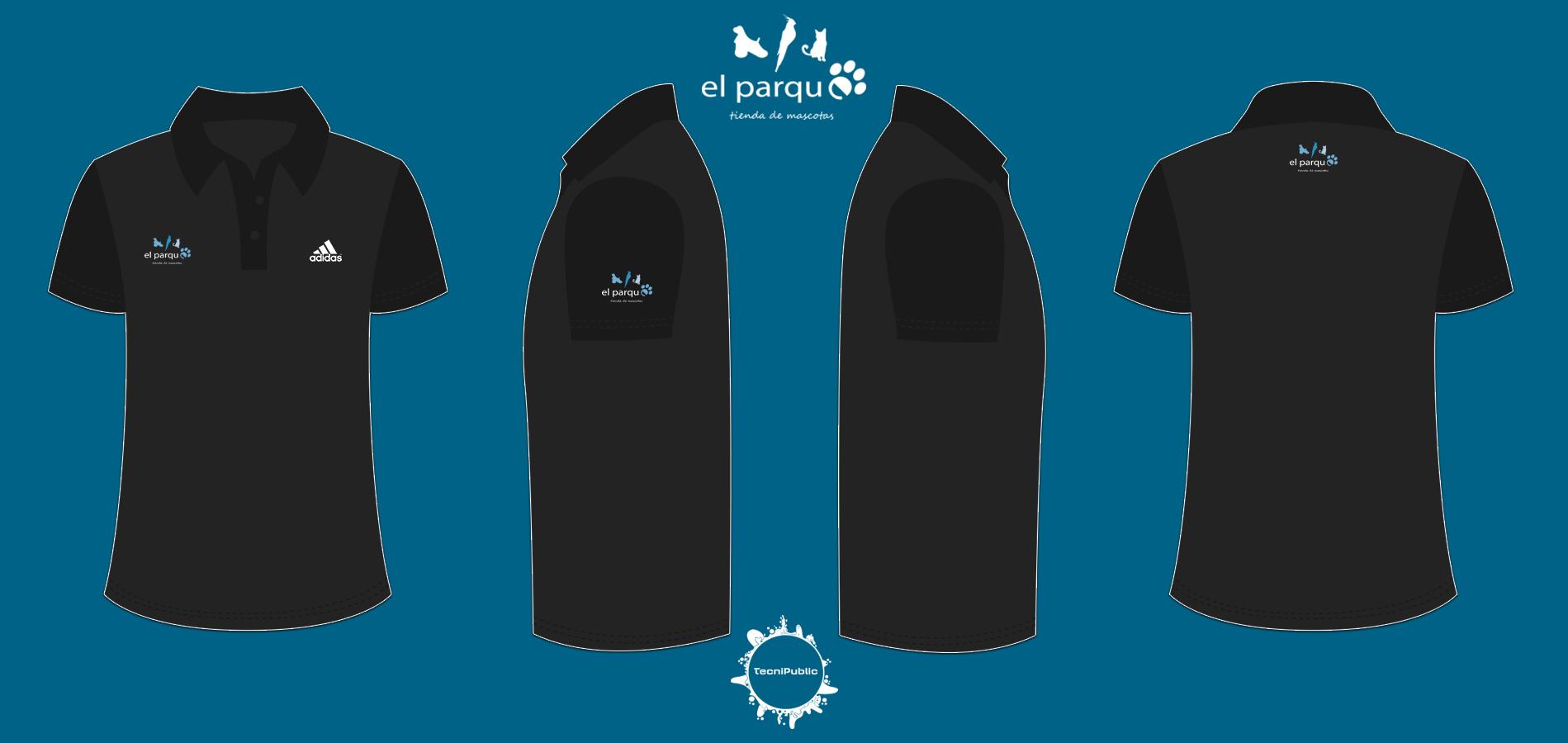 827f600e0a53c Camisas 2017 para la tienda de mascotas El Parque y NaturDog