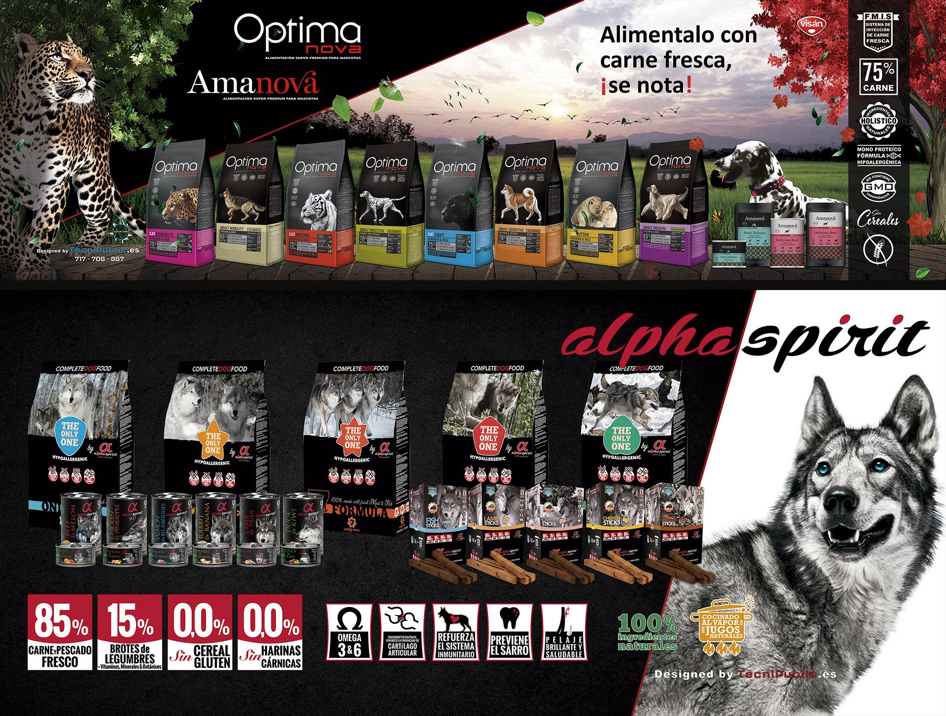 Carteles tienda Haridaira La Palma