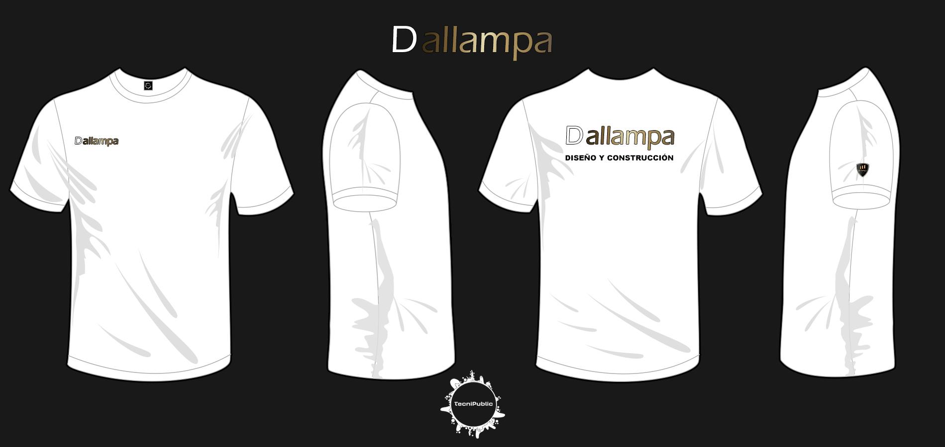 264844ffa26fd Camisas para la empresa de construcción Grupo Dallampa