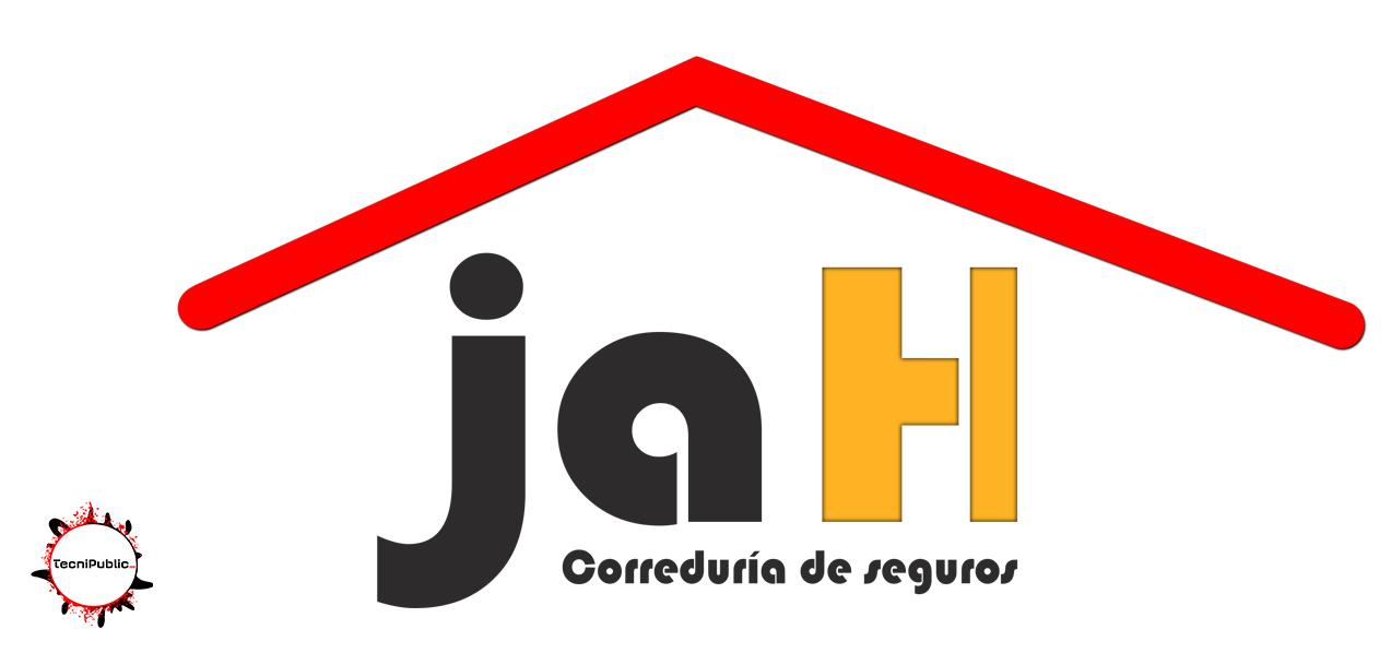 Logotipo JaH Correduría de seguros