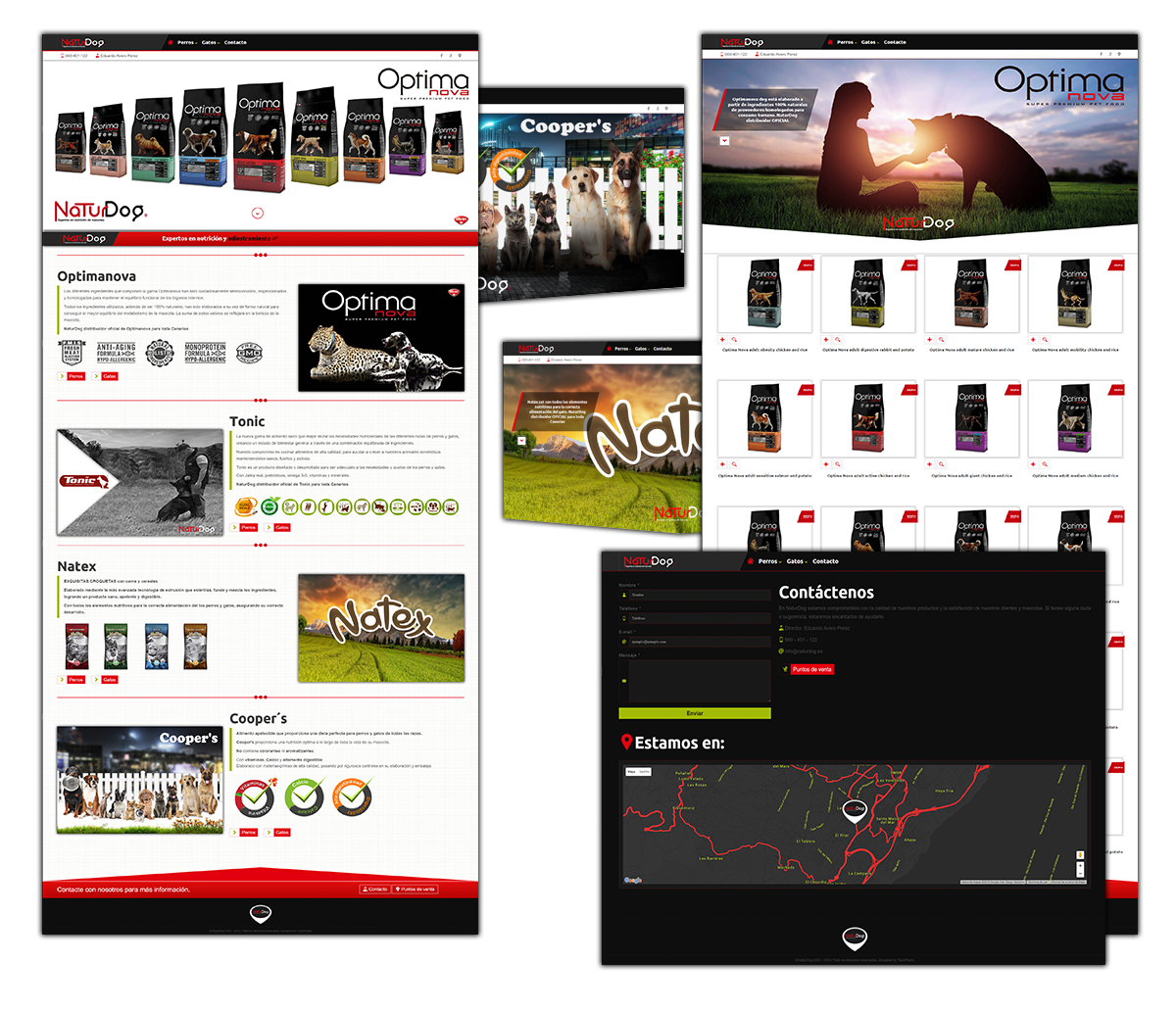 Web para NaturDog - 2015
