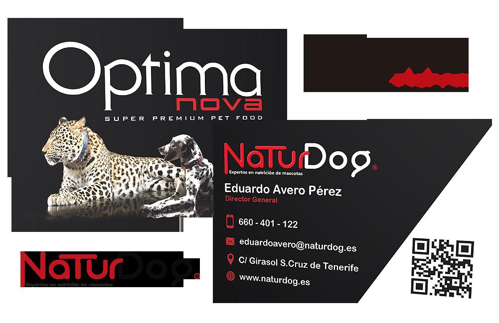 4427b7d6a2358 Tarjetas de visita para NaturDog 2016