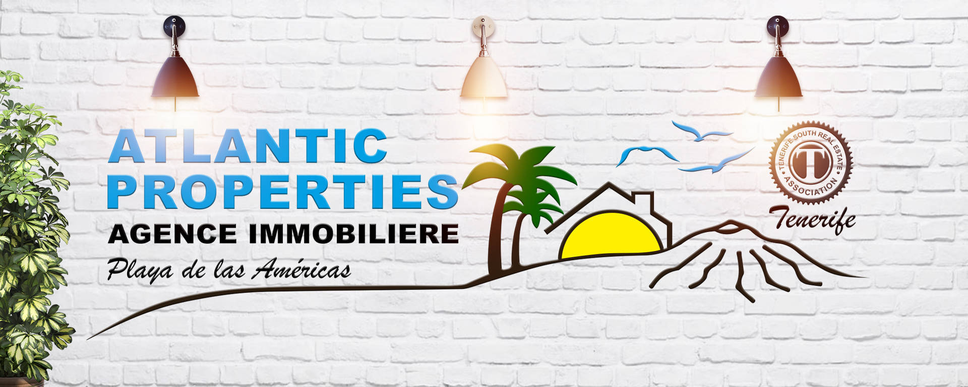 Logo Atlantic Properties Agence immobiliere by TecniPublic.es
