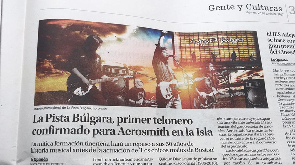 La Pista Búlgara Aerosmith 2017