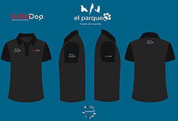 Camisas 2017 para la tienda de mascotas El Parque y NaturDog