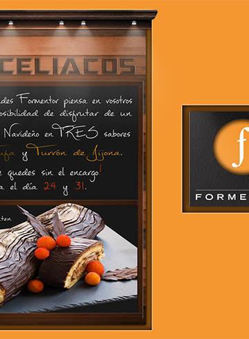 Cartel 2012, para la pastelería Formentor desde 1956 - Madrid