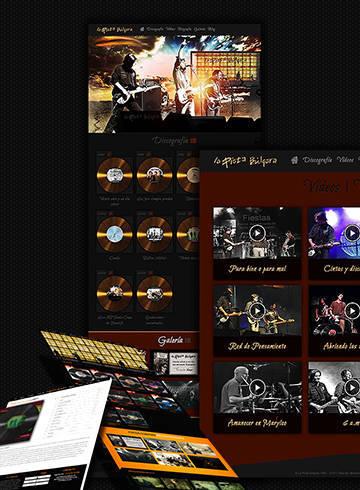 Web La Pista Búlgara 2015, grupo Canario de Rock desde 1980