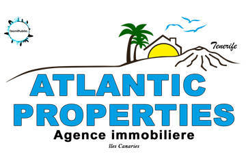 Logotipo Atlantic Properties 2017 | Agence immobiliere Tenerife