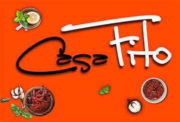 Logo minimalista para el Restaurante Casa Fito en Tenerife, Chimiche