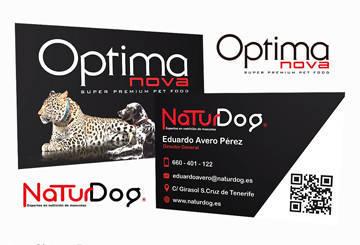 Tarjetas de visita para NaturDog 2016