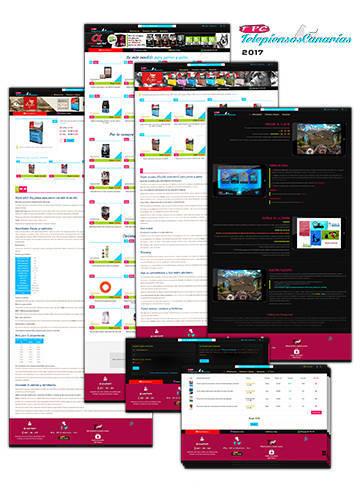 Nueva web tienda online para TelepiensosCanarias 2017
