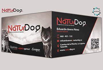 Tarjetas de visita NaturDog 2017