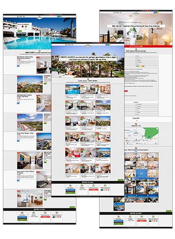 Web Tenerife Vacances - 2020