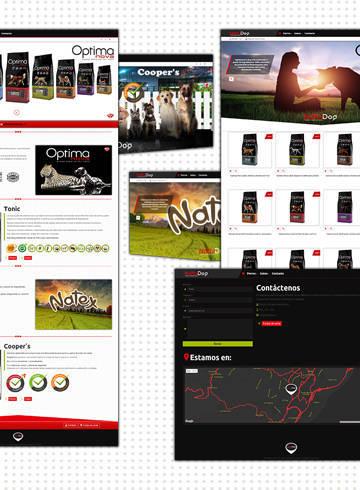Web creada para NaturDog, diseño sencillo, atractivo y fluido.