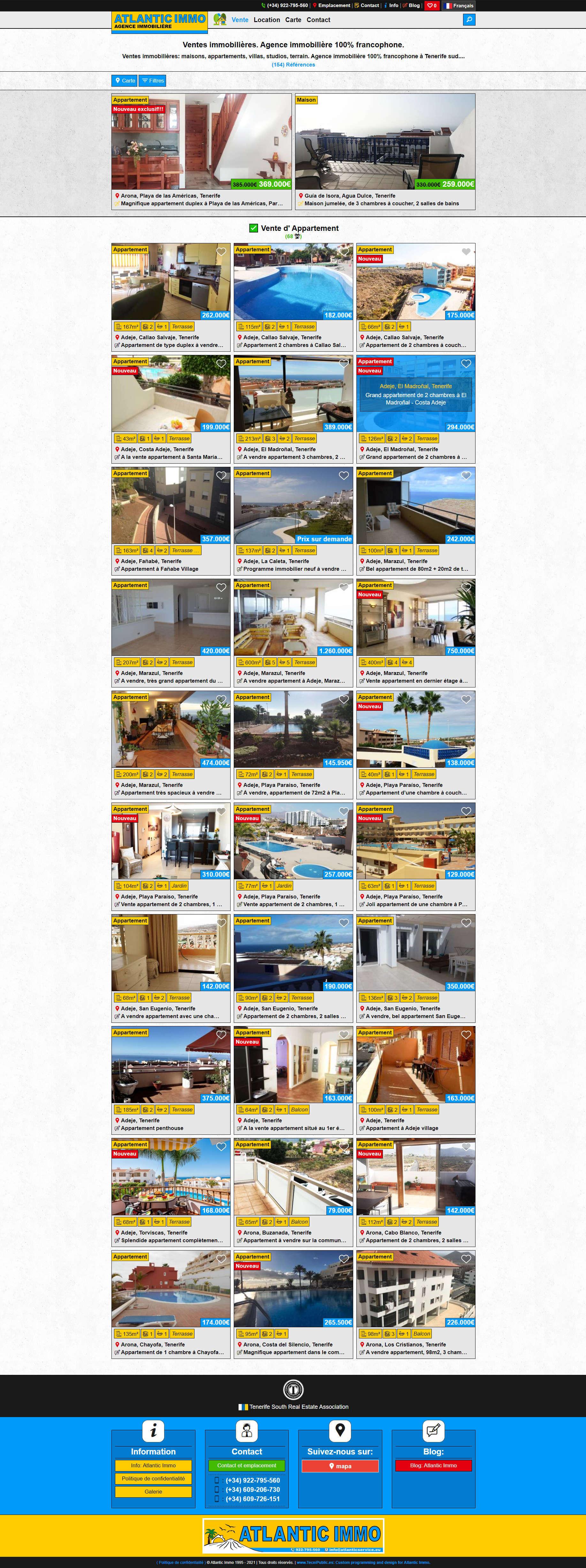 Atlantic Properties - Categoría