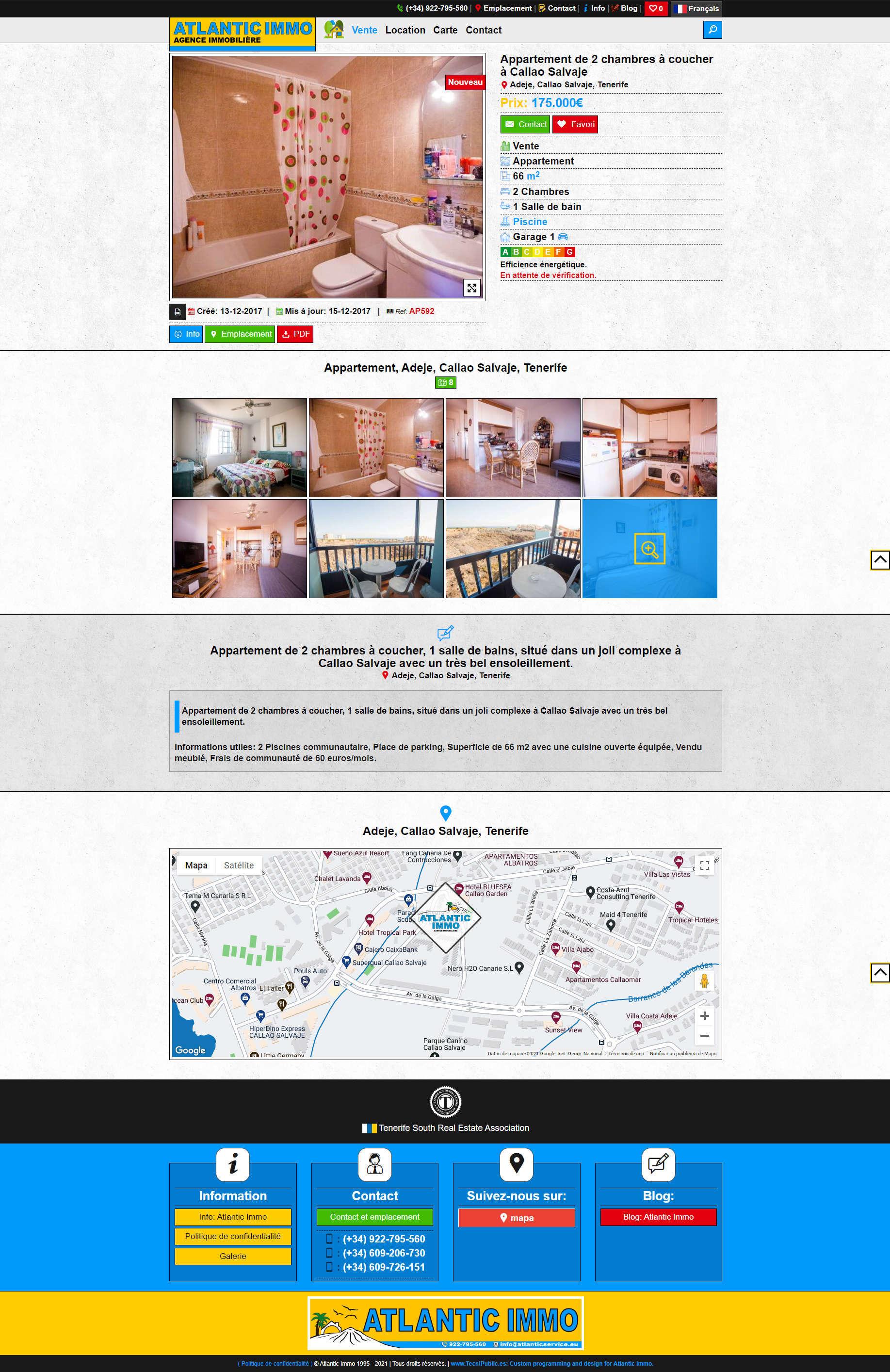 Atlantic Properties - Producto