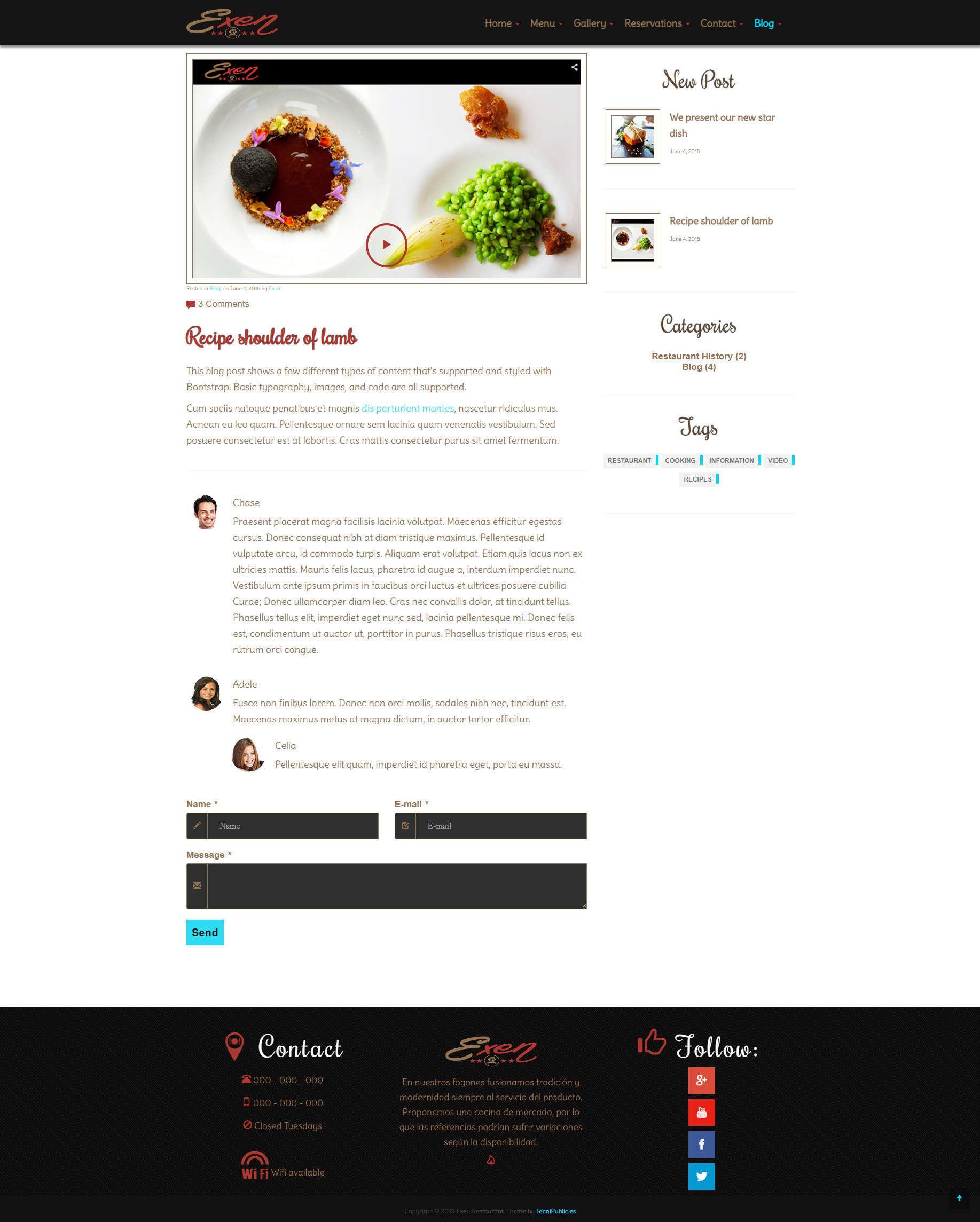Exen - Blog