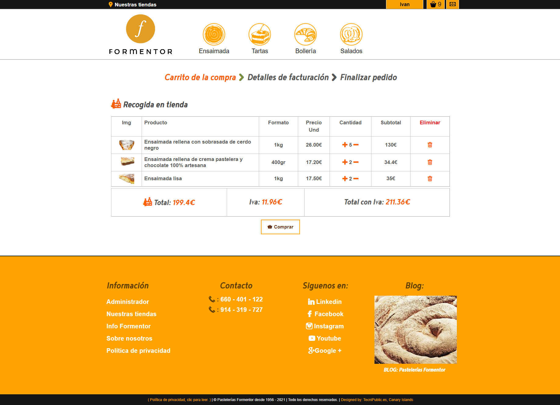 Formentor - Producto