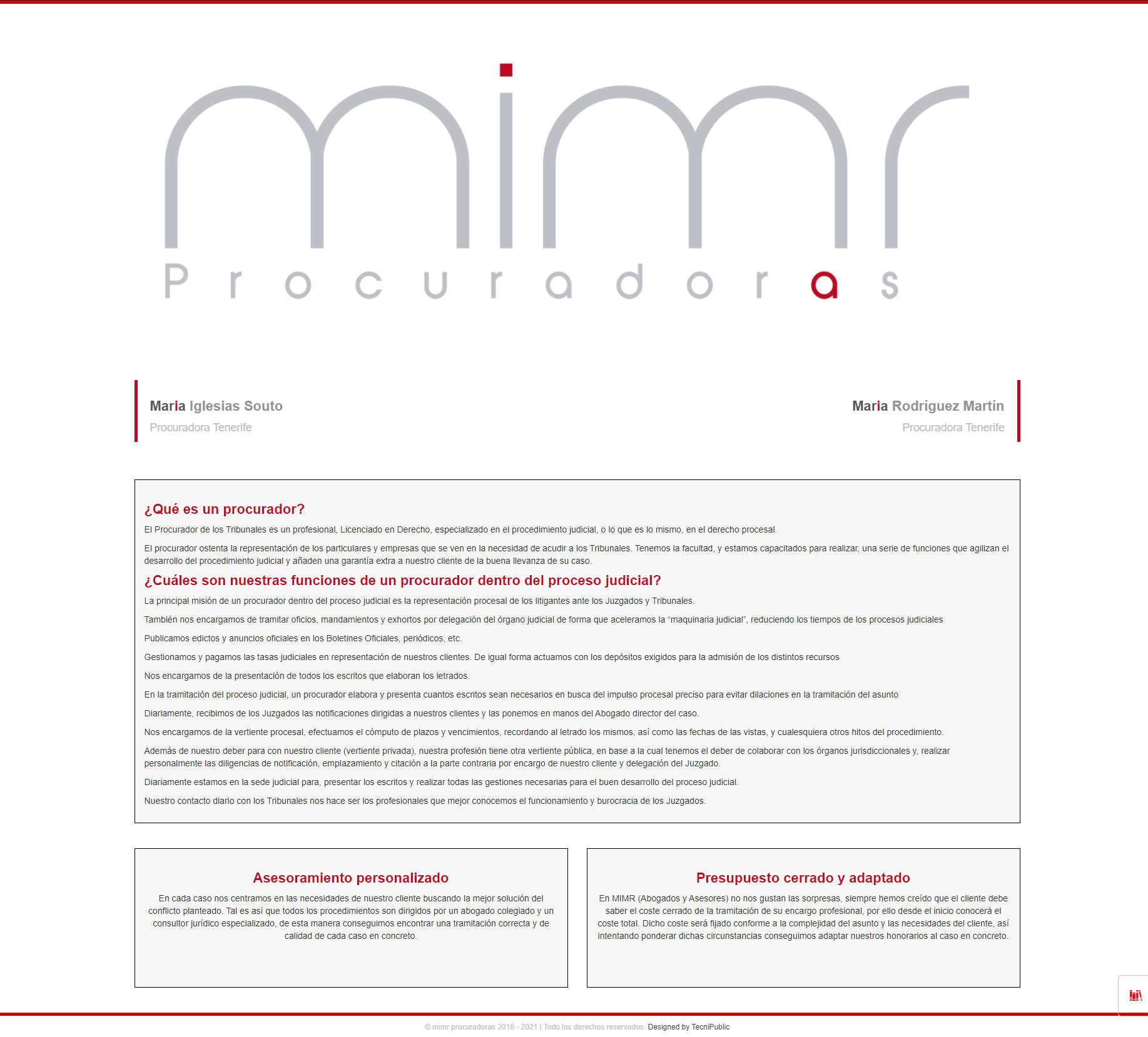 MIMR - Descripción